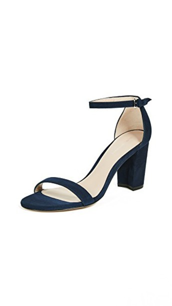 STUART WEITZMAN sandals nice blue shoes