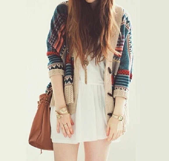 dress white dress white simple winter sweater cute vintage hipster hippie sweater soft grunge goth hipster cool hipster sweater sweater weather