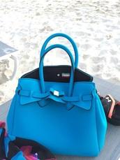 bag,italian bag,italian,blue bag,purse,handbag,italy,bow,blue handbag,blue purse