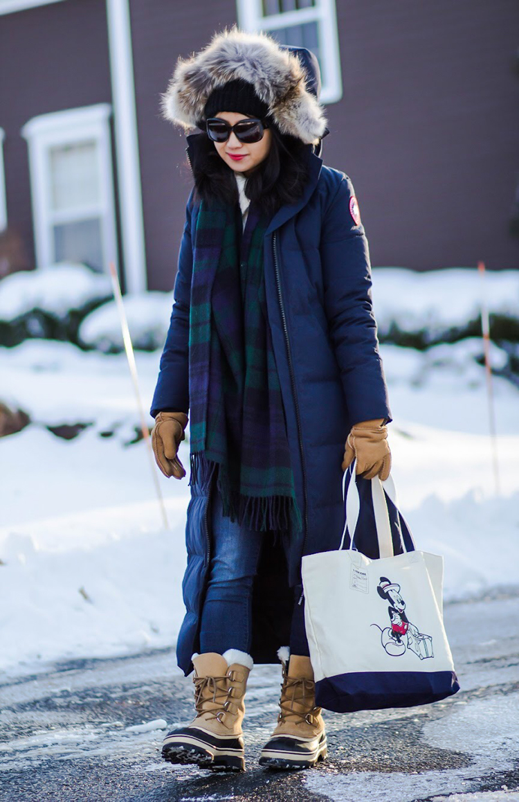 Icy Hell ( Canada Goose Mystique Parka Review) Fast Food & Fast Fashion | a personal style blog