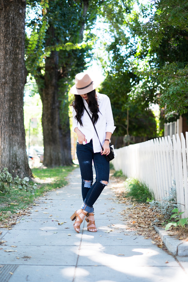 the fancy pants report blogger jeans jewels shoes bag