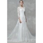 dress,floor length dress,three-quarter sleeves,bridesmaid,illusion,black dress