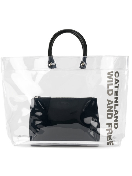 Dsquared2 clear women bag tote bag white