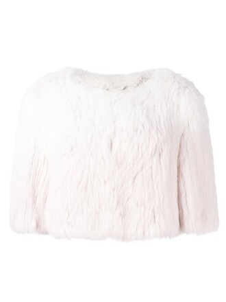 jacket cropped jacket cropped white