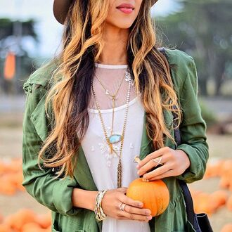 coat band of gypsies jacket military style green khaki fall outfits fall jacket fall coat fall colors revolve clothing revolve revolveme