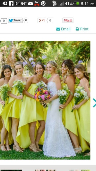 dress yellow dress pink dress yellow dress wedding dress purple dress orange dress bridesmaid