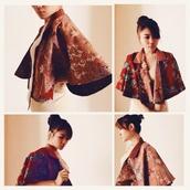 coat,batik,cape,soka,cotton,print