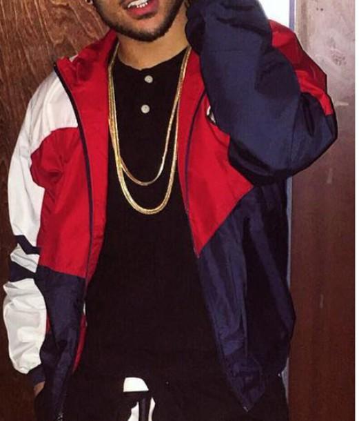 Jacket Bomber Jacket Red White Blue Adidas Jacket Design Nike