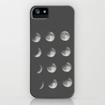 phases of the moon iPhone Case by Sara Eshak | Society6 on Wanelo