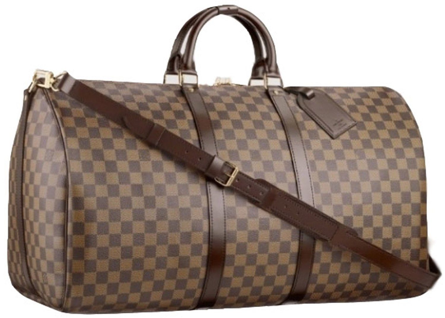 Amazon.com: Women Luggage Travel Pu Leather Brown Duffel Bags: Shoes