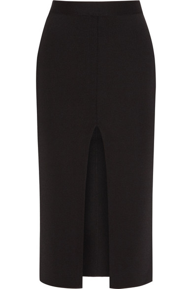 Givenchy | Pencil skirt in black stretch-crepe jersey | NET-A-PORTER.COM