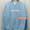 California sweatshirt unisex size s to 2xl | california sweatshirt