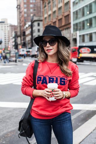 jewels bag sunglasses blogger jumper the corporate catwalk paris