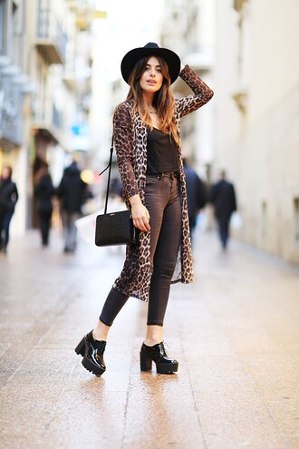 dulceida blogger cardigan shirt pants shoes jewels