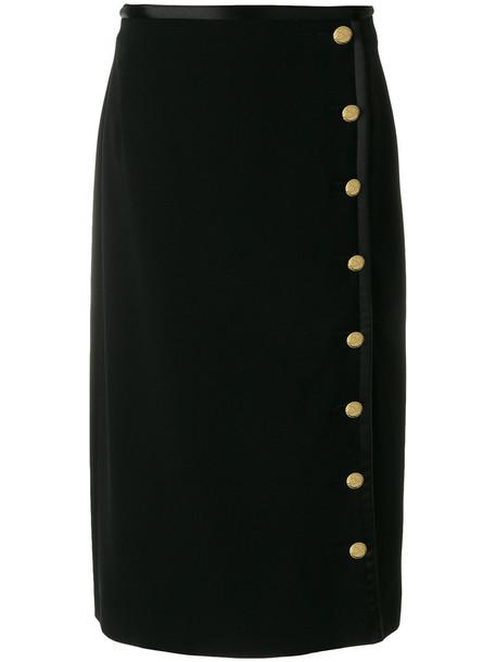 Altuzarra skirt high women black silk