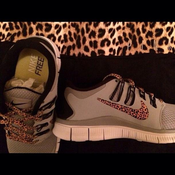 Nike WMNS Roshe Run Print - Lite Orewood Brown Cheetah Print