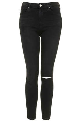 MOTO Washed Black Leigh Jeans - Jeans - Clothing - Topshop