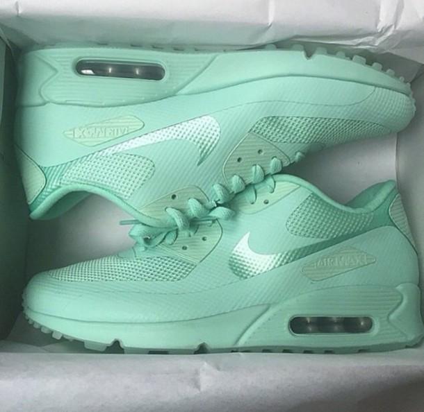 690a38cf900a shoes mint nike airmax mint air max nike mint green shoes nike running shoes  mint green
