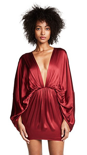 Fame and Partners dress burgundy