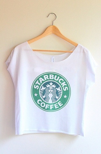 shirt tumblr starbucks coffee