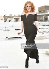 dress,off the shoulder dress,off the shoulder,black,jinkx monsoon,jinkx,black dress,bodycon,bodycon dress,midi dress,midi,party dress,sexy party dresses,sexy,sexy dress,party outfits,sexy outfit,summer dress,summer outfits,spring dress,spring outfits,fall dress,fall outfits,holiday dress,holiday season,christmas dress,cute dress,girly dress,classy dress,elegant dress,cocktail dress,date outfit,birthday dress,prom dress,prom,homecoming,homecoming dress,graduation dress,engagement party dress,wedding clothes,wedding guest,romantic dress,dope