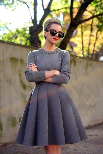 vintage retro grey skirt clothes streetwear streetstyle