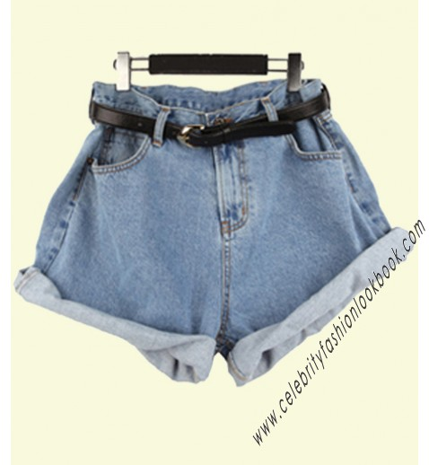 Baggy Jean Shorts