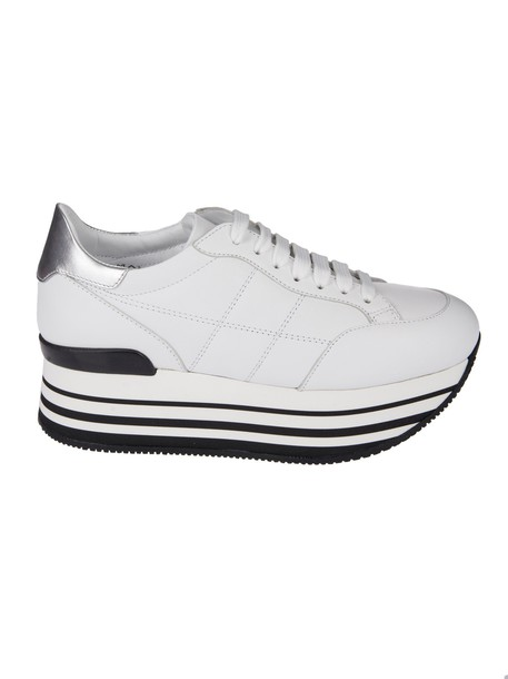 Hogan sneakers platform sneakers lace white shoes