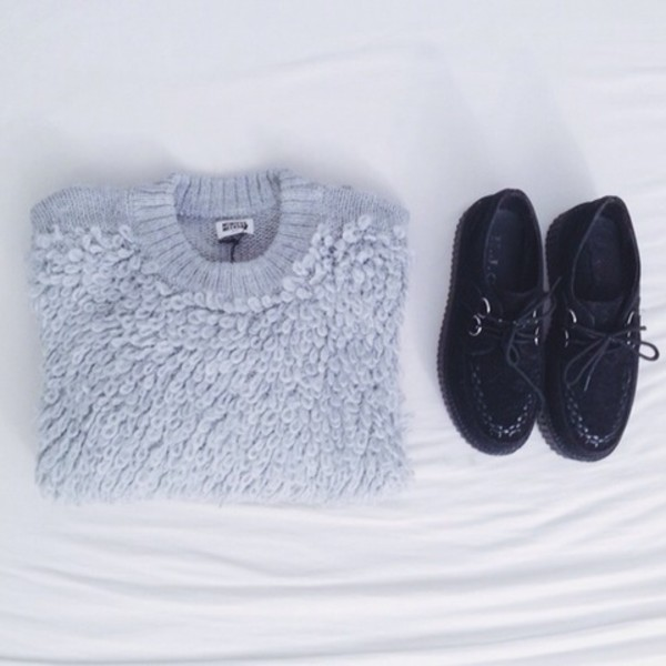 sweater grey grey sweater