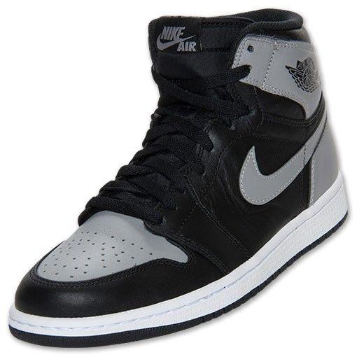f3dc2b6787fc Nike Air Jordan 1  Shadow  Retro High OG Black Soft Grey 555088-014