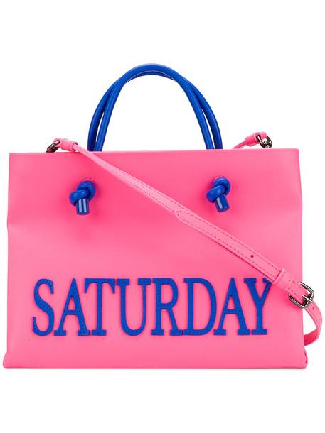 Alberta Ferretti women leather purple pink bag