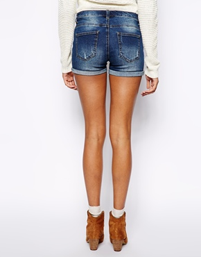 Vero Moda | Vero Moda Supersoft Roll-Up Short at ASOS