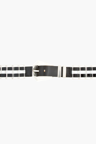 waist black belt high leather women braided hinged belts and suspenders