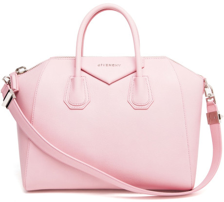 79ee3a67fa3 Givenchy Antigona Grained Leather Tote Bag in Pink (pink & purple) | Lyst