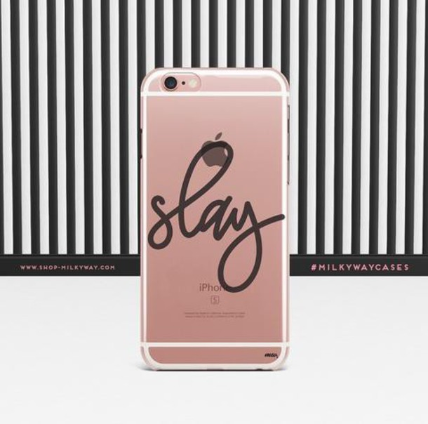 Milkyway Cases CLEAR TPU CASE COVER - SIMPLE SLAY