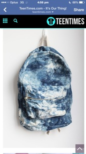 bag,bue,backpack