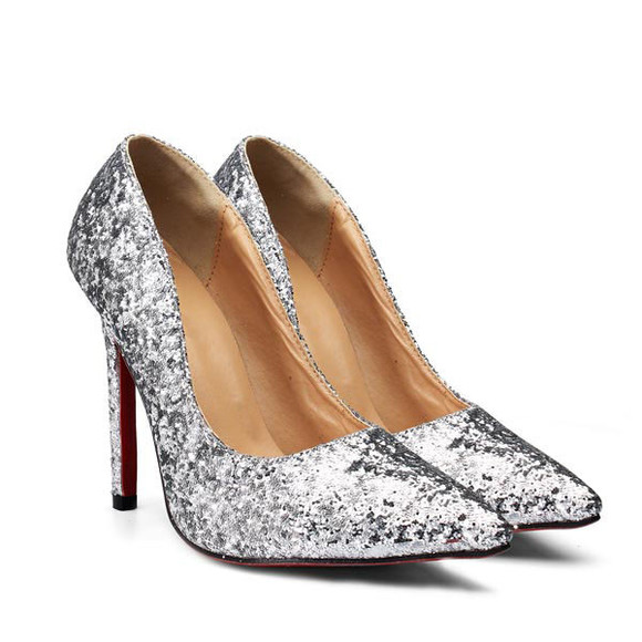 shoes glitter high heels thing high wedding shoes banggood