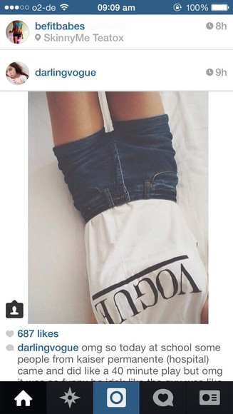 t-shirt shorts instagram
