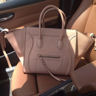 bag pink leather designer celine bag celine