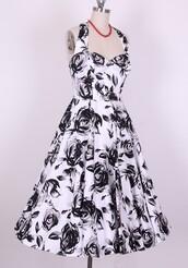 fashion drss,floral dress,vintage style,vintage,50s style,party dress,prom dress,vintage dress,floral clothes,retro,clohes