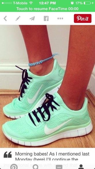 shoes nike mint mint green nike 3.0 v5