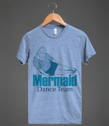 Mermaid Dance Team Tee - Pop Culture Tees and Tanks - Skreened T-shirts, Organic Shirts, Hoodies, Kids Tees, Baby One-Pieces and Tote Bags Custom T-Shirts, Organic Shirts, Hoodies, Novelty Gifts, Kids Apparel, Baby One-Pieces | Skreened - Ethical Custom Apparel