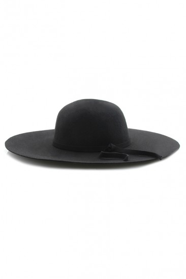 OMG Crown Akubra Hat - Black