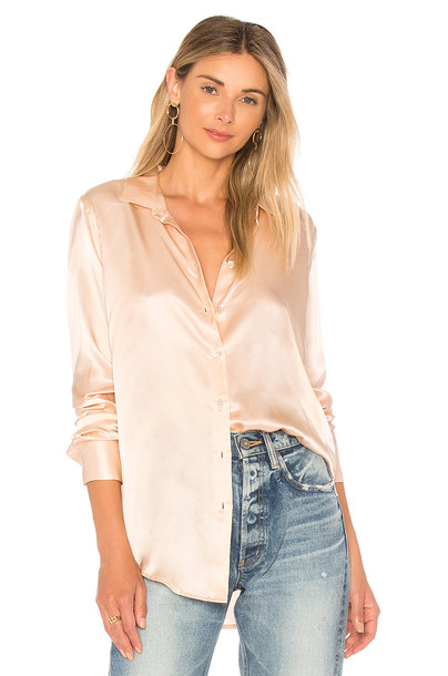 Equipment shirt rose top