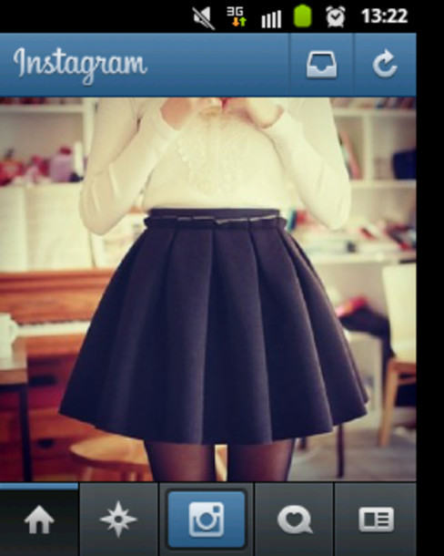 skirt blue amazing perfect