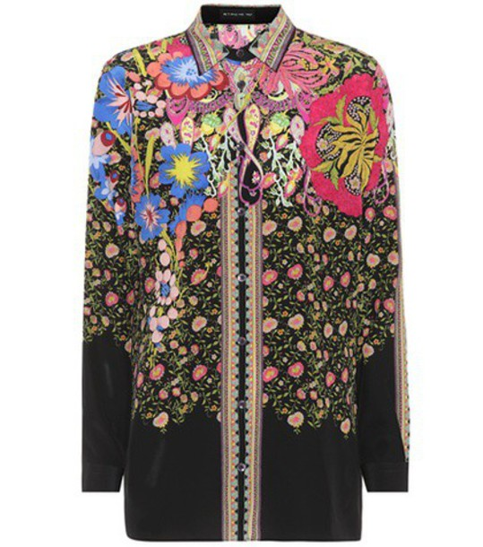 ETRO shirt silk top