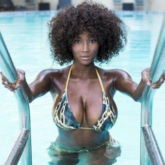 swimwear chain bikini melanin on fleek