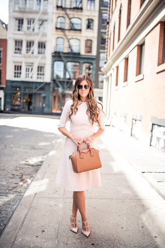 mint arrow blogger dress bag sunglasses shoes white dress little white dress handbag givenchy bag valentino valentino rockstud high heel pumps