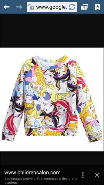 top disney sweater