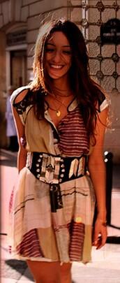 dress,belt